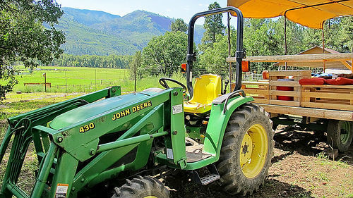 Garden tractor appraisal