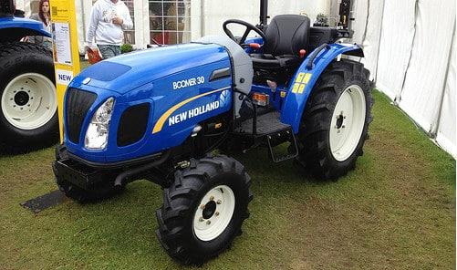 Compact utility tractor appraisal