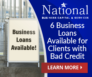 6 Business Loans for Bad Credit banner